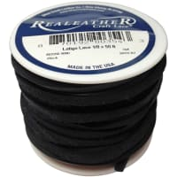 "Latigo Lace .125""X50' Spool-Black"