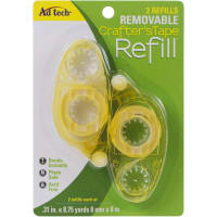 "Crafter's Tape Removable Glue Refill-.31""X315"""