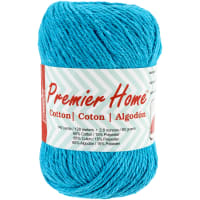 Premier Yarns Home Cotton Yarn - Solid-Turquoise