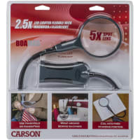 Carson BoaMag LED Lighted Flexible Neck Magnifier