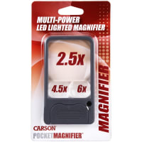 Carson Lighted Pocket Magnifier