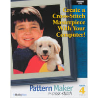 Pattern Maker Cross Stitch Software 4.0-Standard Version