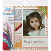 Ammees Babies Edgit Piercing Crochet Hook & Book Set-Fancy Crochet Edges