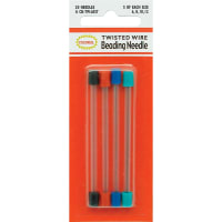 Colonial Needle Twisted Wire Beading Needles-Size 6/12 20/Pkg