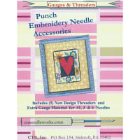 CTR Needleworks Punch Embroidery Needle Threaders-5//Pkg