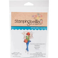 Stamping Bella Cling Stamps-Melinda Has A Map