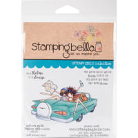 Stamping Bella Cling Stamps-Thelma & Louise