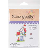 Stamping Bella Cling Stamps-Fairy Garden House