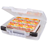 "ArtBin Quick View Deep Base Carrying Case-15""X3.25""X14.375"" Translucent"