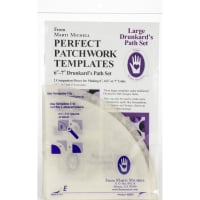 Marti Michell Perfect Patchwork Template-Large Drunkard's Path 2/Pkg