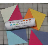"""Half-Square Triangles On A Roll -50' 1"""" Finished Size"""