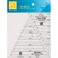 "EZ Quilting Tri-Recs Tools-1"" To 6"" 2/Pkg"