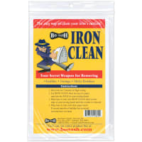 Bo-Nash Iron Clean Cleaning Cloths-10/Pkg