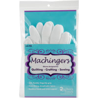 Quilters Touch Machingers Quilting Gloves 1 Pair-Extra Small