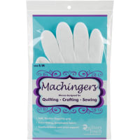 Quilters Touch Machingers Quilting Gloves 1 Pair-Small/Medium