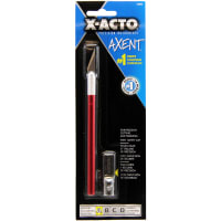 X-ACTO(R) AXENT #1 Craft Knife W/Cap-Red