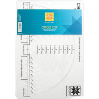 """EZ Quilting Easy Circle Cut-2"""" To 10"""""""