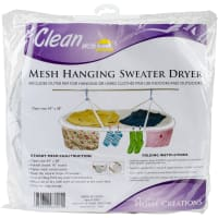 "Innovative Home Creations Jumbo Sweater Dryer 54""X28""-White"