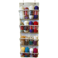 Innovative Home Creations Over The Door Storage/Organizer-White