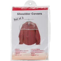 Innovative Home Creations Shoulder Covers 3/Pkg-Clear