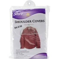 "Innovative Home Creations Shoulder Covers 16pk 12""X24""-Clear"