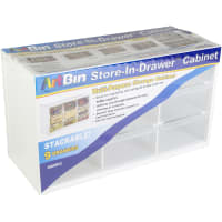 "ArtBin Store-In-Drawer Cabinet-14.375""X6""X8.675"" Translucent"