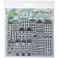 """Crafter's Workshop Template 6""""X6""""-City Buildings"""