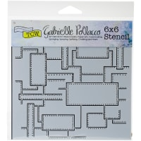 """Crafter's Workshop Template 6""""X6""""-Riveted"""