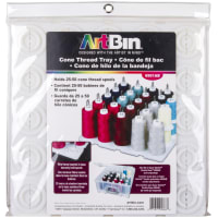 "ArtBin Super Satchel Thread Tray-12.5""X12.5""X6"" Translucent"