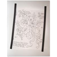 "Lacis Pattern Layout Magnetic Sheet 12""X15""-"