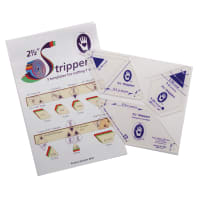 """Marti Michell 2-1/2"""" Strippers Templates-3 Templates For 7 Shapes"""