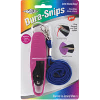 """Havel's Dura Snips Squeeze-Style Thread Snips 4.75""""-W/Neck Strap"""