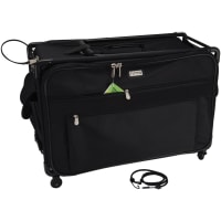 "TUTTO Machine On Wheels Case-23""X14.25""X14"" Black"