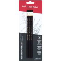 Tombow MONO Drawing Pencils 3/Pkg-Black