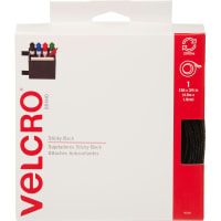 VELCRO(R) Brand Sticky Back Tape .75X15'-Black