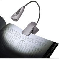 Carson FlexNeck Plus Ultra-Bright LED Booklight-Black