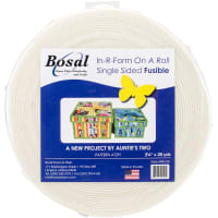 "Bosal In-R-Form Unique Fusible Foam Stabilizer-2.25""X20yd"