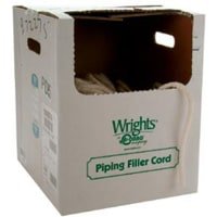 "Wrights Cotton Piping Size 1 3/16""X50yd-Natural"