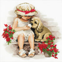 """RIOLIS Counted Cross Stitch Kit 11.75""""X11.75""""-Sweet Tooth (14 Count)"""