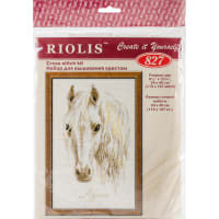 """RIOLIS Counted Cross Stitch Kit 9.5""""X15.75""""-Moon (15 Count)"""