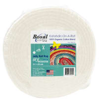 "Bosal Katahdin On-A-Roll 100% Organic Cotton Batting-White 2.5""X25yd"