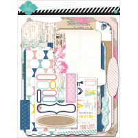 "Heidi Swapp Memory Files Scrapbook Album Kit 9""X11.5""-Cardstock"