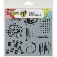 """Crafter's Workshop Template 6""""X6""""-Impressions"""