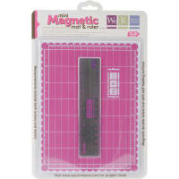 Mini Magnetic Cutting Mat & Ruler Set