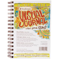 "Strathmore Visual Journal Mixed Media Vellum 5.5""X8""-34 Sheets"