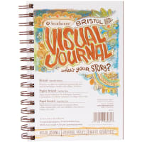 "Strathmore Visual Journal Bristol Smooth 5.5""X8""-28 Sheets"