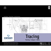 """Canson Artist Series Tracing Paper Pad 19""""X24""""-50 Sheets"""