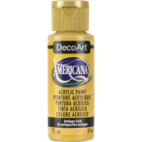 Americana Acrylic Paint 2oz-Antique Gold - Opaque