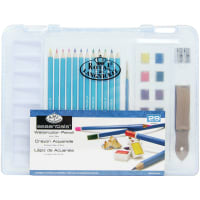 essentials(TM) Clear View Art Set-Watercolor Drawing