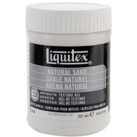 Liquitex Natural Sand Acrylic Texture Gel-8oz